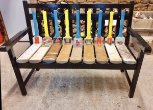 Picture of the bat bench