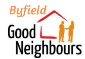 An image of the Byfield Good Neighnours logo